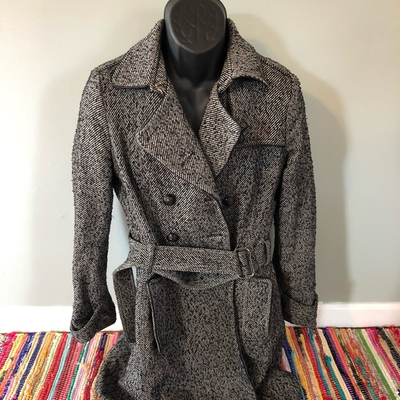 Banana Republic Jackets & Blazers - Banana Republic Pea Coat Trench Jacket Rain Snow
